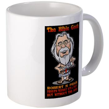 The Bible Geek mug