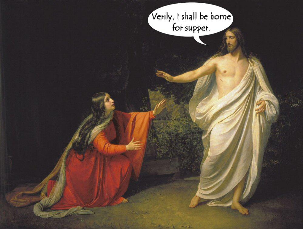 Mary Magdalena as Mrs Messiah