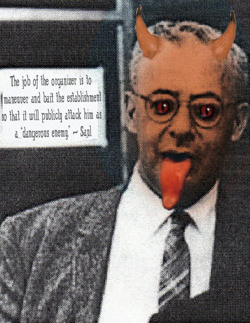 Saul Aulinsky the Devil Himself