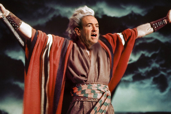 mike huckabee as moses