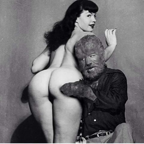 wolfman and Betty Page