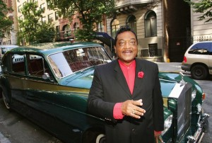 Reverend Ike and his Rolls Royce