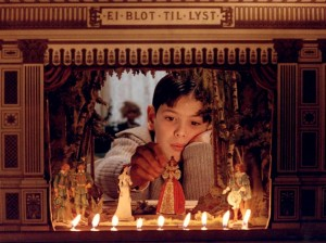 "Theater as the ""little world"" as described in Bergman's Fanny and Alexander"