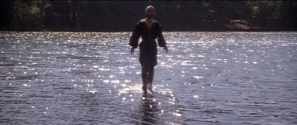 General Zod walking on water