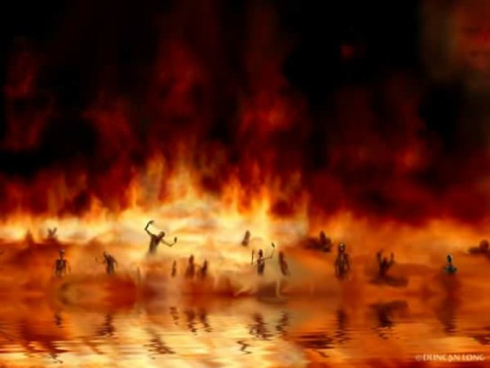 lake of fire, hell
